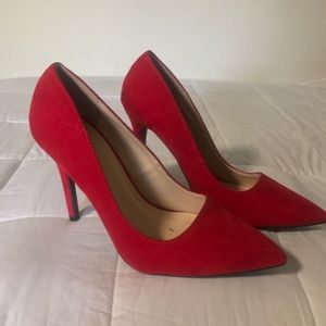 Red High Heel Pump